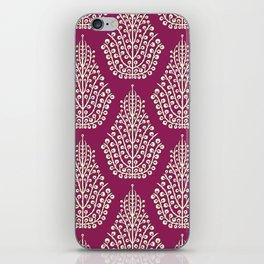 SPIRIT purple cream iPhone Skin
