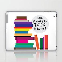 Trop de livres... ou pas ! Laptop & iPad Skin