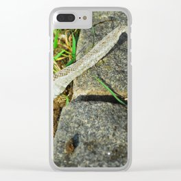 Snake Skin Clear iPhone Case