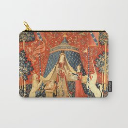 Lady and The Unicorn Medieval Tapestry Carry-All Pouch