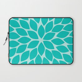 Turquoise Chrysanthemum Laptop Sleeve