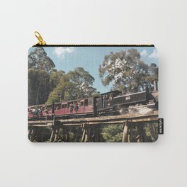 A ride travel back in time on Heritage Train in Melbourne   Travel Photography Carry-All Pouch