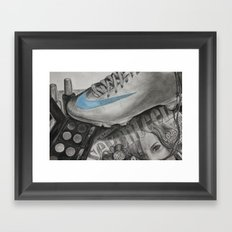Seventeen Things Framed Art Print