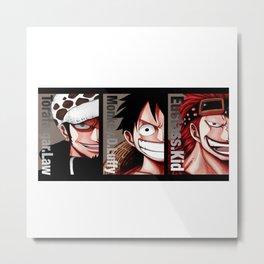 pirates king Metal Print