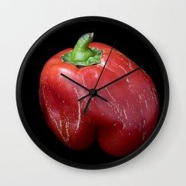 Red Pepper  Wall Clock