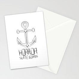 Horror Skateboards anchor  Stationery Cards
