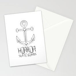 Horror Skateboards anchor  Stationery Cards