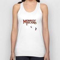 monkey island Tank Tops featuring Monkey Island - Treasure found! by Sberla