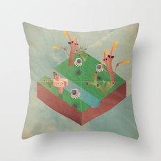 a r c a d i a Throw Pillow