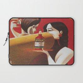 Aperol Vintage Beverage Advertisement Poster Laptop Sleeve