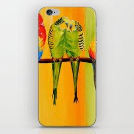 Snuggly Birds iPhone Skin