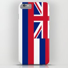 Hawaiian Flag, Official color & scale iPhone 6 Plus Slim Case