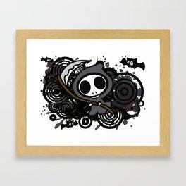 Grim_Reaper Framed Art Print