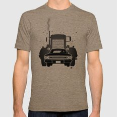 Steven Spielberg's DUEL Tri-Coffee Mens Fitted Tee 2X-LARGE