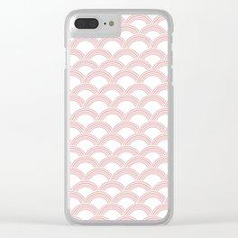 Japanese Wave Blush Glam #1 #decor #art #society6 Clear iPhone Case