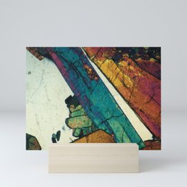 Epidote in Quartz Mini Art Print