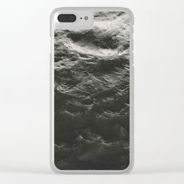 Water Texture Clear iPhone Case