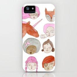Hey Sugar! iPhone Case