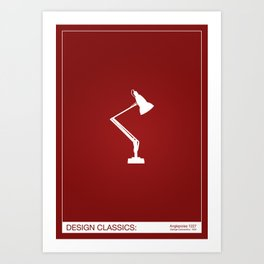 Design Classics - Anglepoise Art Print