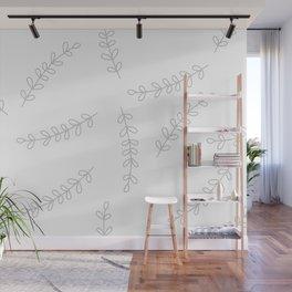Flora pattern Wall Mural