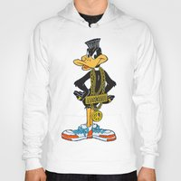 moschino Hoodies featuring Moschino Duffy Duck by Claudio Velázquez