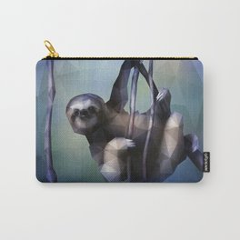 Sloth (Low Poly Cool) Carry-All Pouch