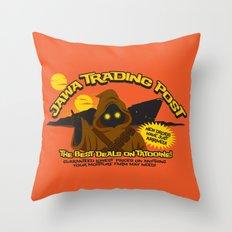 Jawa Trading Post Throw Pillow
