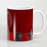 hydra Mugs featuring Captain Hydra by Some_Designs