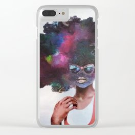 Awestruck Clear iPhone Case