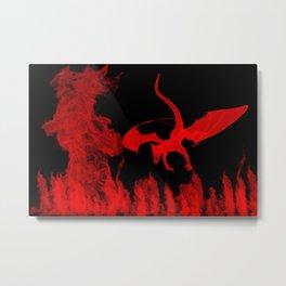 Fire. Metal Print