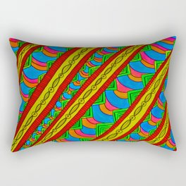 Color in Motion Rectangular Pillow
