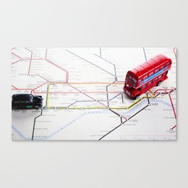Lost & Found in the Roundabouts Canvas Print