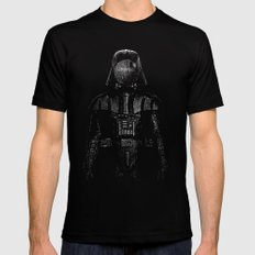 Darth Magritte Mens Fitted Tee Black MEDIUM