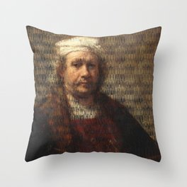 All My Own Work 07 Throw Pillow
