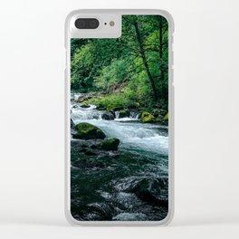 Wahclella II Clear iPhone Case
