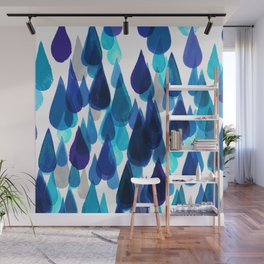 downpour Wall Mural