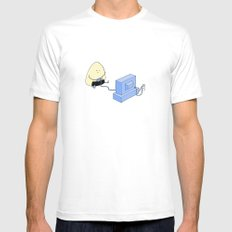 Onigiri video games! Mens Fitted Tee SMALL White