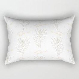White Willow Rectangular Pillow