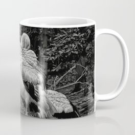 Black And White Storks Coffee Mug