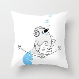 Tweettie Throw Pillow