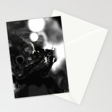 Space Coal Stationery Cards