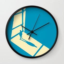 Staring at the bright light Wall Clock
