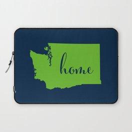 Washington is Home - Go Seahawks Laptop Sleeve