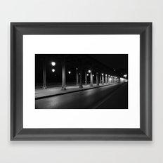 Endless Bridge Framed Art Print