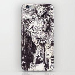 Him & She iPhone Skin