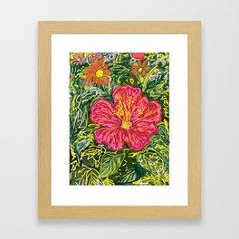 New Hibiscus Framed Art Print