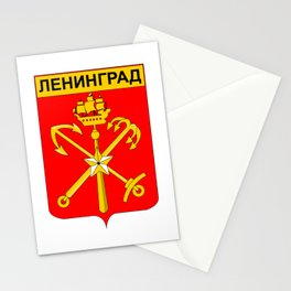 Coat of Arms of Leningrad  Stationery Cards