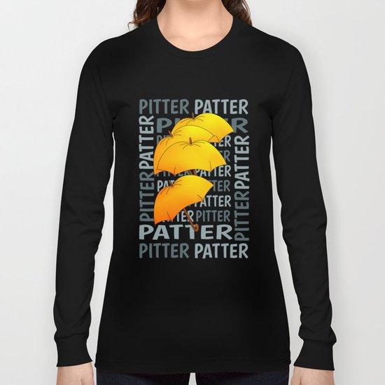 Umbrella  Pitter Patter Long Sleeve T-shirt