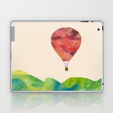 Sunset balloon Laptop & iPad Skin