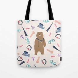 Kinky Bear Tote Bag